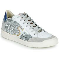 Παπούτσια Γυναίκα Χαμηλά Sneakers Serafini SAN DIEGO Silver / Άσπρο