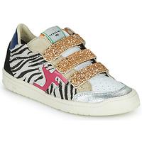 Παπούτσια Γυναίκα Χαμηλά Sneakers Serafini SAN DIEGO Gold / Άσπρο / Black