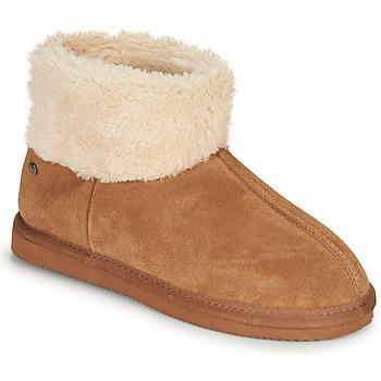 Παπούτσια Γυναίκα Παντόφλες Isotoner 97307 Camel