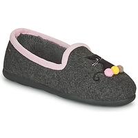 Παπούτσια Γυναίκα Παντόφλες Isotoner 97311 Grey / Ροζ