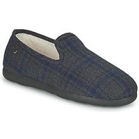 Παπούτσια Άνδρας Παντόφλες Isotoner 98038 Grey / Μπλέ