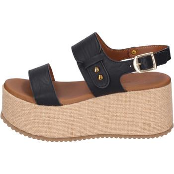 Παπούτσια Γυναίκα Σανδάλια / Πέδιλα Sara Collection Σανδάλια BJ920 Μαύρος