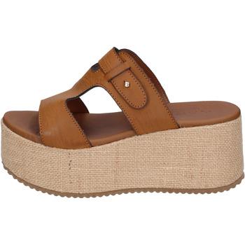 Παπούτσια Γυναίκα Τσόκαρα Sara Collection Σανδάλια BJ923 καφέ