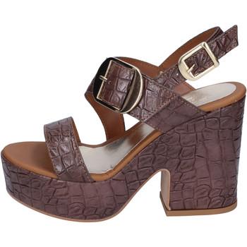 Παπούτσια Γυναίκα Σανδάλια / Πέδιλα Sara Collection Σανδάλια BJ924 καφέ