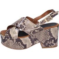 Παπούτσια Γυναίκα Σανδάλια / Πέδιλα Sara Collection Σανδάλια BJ932 Μπεζ