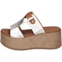 Παπούτσια Γυναίκα Τσόκαρα Sara Collection Σανδάλια BJ935 Ασήμι