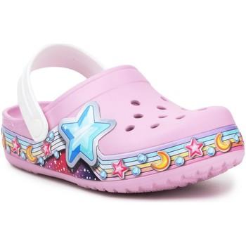 Παπούτσια Κορίτσι Σαμπό Crocs FL Star Band Clog 207075-6GD purple