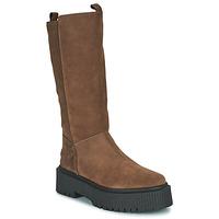 Παπούτσια Γυναίκα Μπότες για την πόλη Musse & Cloud BARBIS Brown