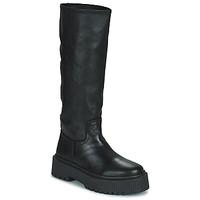 Παπούτσια Γυναίκα Μπότες για την πόλη Musse & Cloud BRULI Black