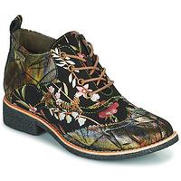 Παπούτσια Γυναίκα Μπότες Laura Vita COCRALIEO Black / Green / Ροζ