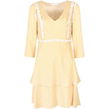 Υφασμάτινα Γυναίκα Κοντά Φορέματα Patrizia Pepe  Yellow