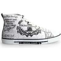Παπούτσια Άνδρας Ψηλά Sneakers Trussardi  Άσπρο