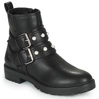 Παπούτσια Γυναίκα Μπότες Only BAD 17 PU QUILT BOOT Black