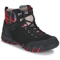 Παπούτσια Γυναίκα Πεζοπορίας Allrounder by Mephisto NIGATA TEX Black / Red