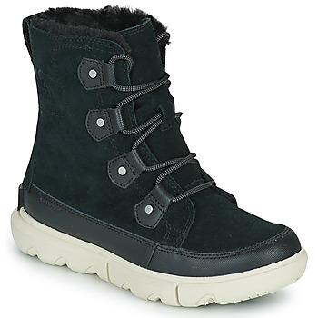 Παπούτσια Γυναίκα Μπότες Sorel SOREL EXPLORER II JOAN FAUX FUR Black