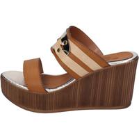 Παπούτσια Γυναίκα Τσόκαρα Sara Collection Σανδάλια BJ939 καφέ