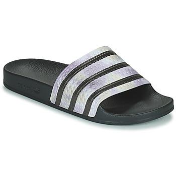 Παπούτσια Γυναίκα σαγιονάρες adidas Originals ADILETTE Black / Argenté