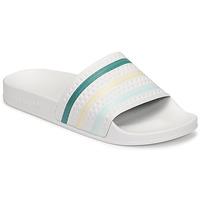 Παπούτσια Γυναίκα σαγιονάρες adidas Originals ADILETTE Άσπρο / Green / Ροζ