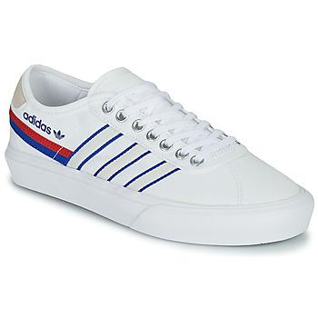 Παπούτσια Χαμηλά Sneakers adidas Originals DELPALA Άσπρο / Μπλέ