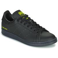 Παπούτσια Χαμηλά Sneakers adidas Originals STAN SMITH Black / Yellow