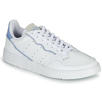 Παπούτσια Χαμηλά Sneakers adidas Originals SUPERCOURT Άσπρο / Μπλέ