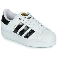 Παπούτσια Γυναίκα Χαμηλά Sneakers adidas Originals SUPERSTAR BOLD W Άσπρο / Black / Vernis