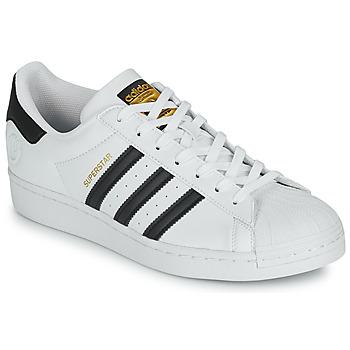 Παπούτσια Χαμηλά Sneakers adidas Originals SUPERSTAR VEGAN Άσπρο / Black