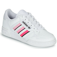 Παπούτσια Κορίτσι Χαμηλά Sneakers adidas Originals CONTINENTAL 80 STRI J Άσπρο / Ροζ