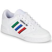 Παπούτσια Παιδί Χαμηλά Sneakers adidas Originals CONTINENTAL 80 STRI J Άσπρο / Green / Μπλέ