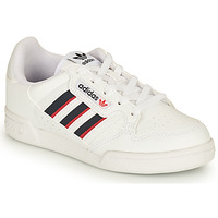 Παπούτσια Παιδί Χαμηλά Sneakers adidas Originals CONTINENTAL 80 STRI C Άσπρο / Μπλέ