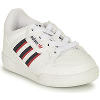 Παπούτσια Παιδί Χαμηλά Sneakers adidas Originals CONTINENTAL 80 STRI I Άσπρο / Μπλέ