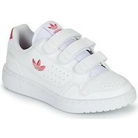 Παπούτσια Κορίτσι Χαμηλά Sneakers adidas Originals NY 90  CF C Άσπρο / Ροζ