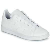 Παπούτσια Παιδί Χαμηλά Sneakers adidas Originals STAN SMITH C Άσπρο