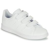 Παπούτσια Παιδί Χαμηλά Sneakers adidas Originals STAN SMITH CF C Άσπρο
