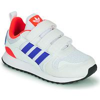 Παπούτσια Παιδί Χαμηλά Sneakers adidas Originals ZX 700 HD CF C Μπλέ / Άσπρο / Red
