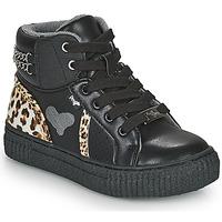 Παπούτσια Κορίτσι Ψηλά Sneakers Primigi GIRL ALPHA Black / Leopard