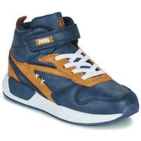 Παπούτσια Αγόρι Ψηλά Sneakers Primigi B&G MEGA Μπλέ / Brown