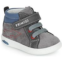 Παπούτσια Αγόρι Ψηλά Sneakers Primigi BABY LIKE Grey / Μπλέ