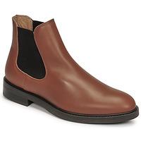 Παπούτσια Άνδρας Μπότες Selected CHELSEA Cognac