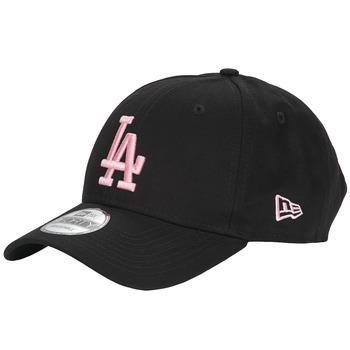 Αξεσουάρ Γυναίκα Κασκέτα New-Era LEAGUE ESSENTIAL 9FORTY LOS ANGELES DODGERS Black / Ροζ