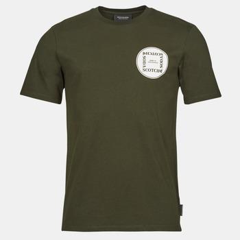 T-shirt με κοντά μανίκια Scotch & Soda GRAPHIC LOGO T-SHIRT Σύνθεση: Βαμβάκι