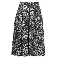 Υφασμάτινα Γυναίκα Φούστες See U Soon 21232098 Black / Άσπρο
