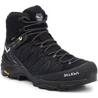 Παπούτσια Άνδρας Πεζοπορίας Salewa MS Alp Trainer 2 Mid GTX 61382-0971 black