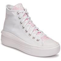 Παπούτσια Γυναίκα Ψηλά Sneakers Converse CHUCK TAYLOR ALL STAR MOVE HYBRID FLORAL HI Άσπρο