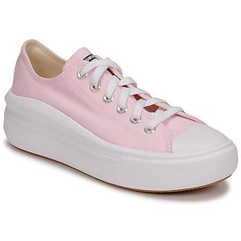 Παπούτσια Γυναίκα Χαμηλά Sneakers Converse CHUCK TAYLOR ALL STAR MOVE SEASONAL COLOR OX Ροζ