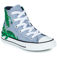 Παπούτσια Αγόρι Ψηλά Sneakers Converse CHUCK TAYLOR ALL STAR DINO DAZE HI Μπλέ / Green