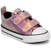Παπούτσια Κορίτσι Χαμηλά Sneakers Converse CHUCK TAYLOR ALL STAR 2V IRIDESCENT GLITTER OX Ροζ