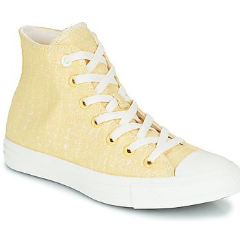 Παπούτσια Γυναίκα Ψηλά Sneakers Converse CHUCK TAYLOR ALL STAR HYBRID TEXTURE HI Yellow