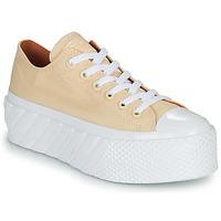 Παπούτσια Γυναίκα Χαμηλά Sneakers Converse CHUCK TAYLOR ALL STAR LIFT 2X HYBRID SHINE OX Yellow