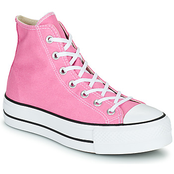 Παπούτσια Γυναίκα Ψηλά Sneakers Converse CHUCK TAYLOR ALL STAR LIFT SEASONAL COLOR HI Ροζ